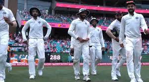 India en Sydney 33 años después Australia Alimenta al equipo Followon