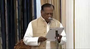 Ram Pukar Singh took Promoting Speaker oath