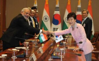 PM Modi gives Korean companies an invitation to invest in India
