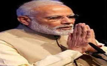 Prime Minister Narendra Modi appealed to NRIs to adopt 'MADE IN INDIA'
