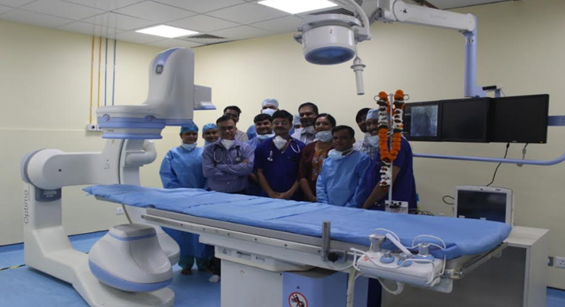 NH MMI Naraina Superspeciality Hospital Inaugurates Second Cath Lab