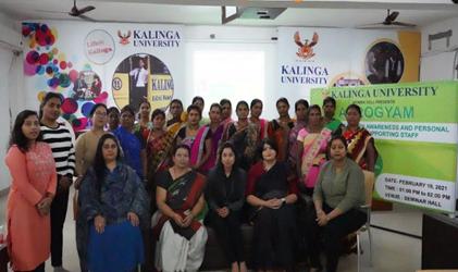 "Organizing ""Arogyam"" Dialogue by Women's Cell at Kalinga University"