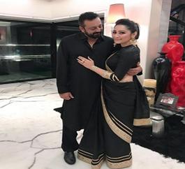 Sanjay Dutt congratulates wife Manyata on their wedding anniversary