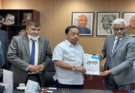 Laghu Udyog Bharti delegation met Union Industries Minister and Joint Secretary